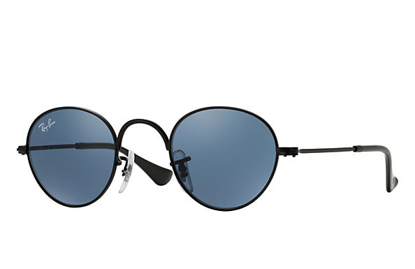 Ray-Ban 0RJ9537S-ROUND JUNIOR Black SUN