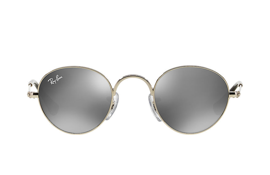 Ray-Ban  sunglasses RJ9537S CHILD 001 round junior silver 8053672474619