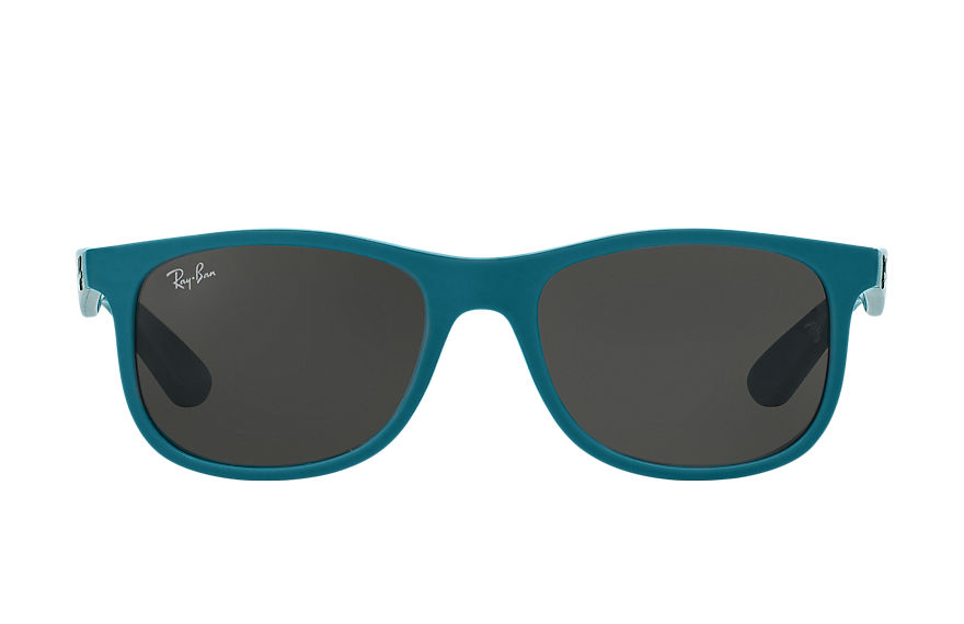 Ray-Ban Sunglasses RJ9062S Light Blue with Grey Classic lens