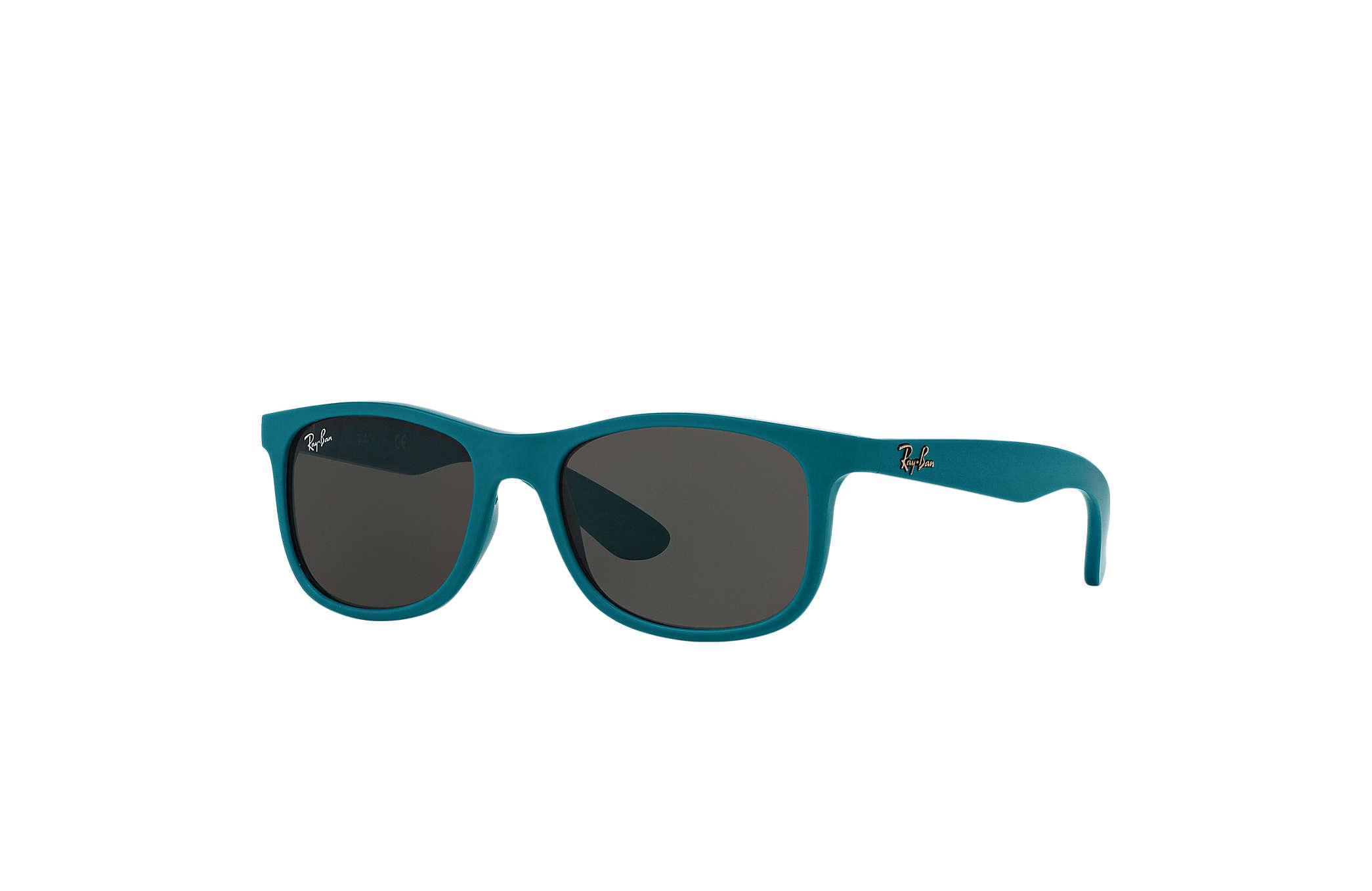 6abef65575 Ray-Ban RB9062S Azul claro - Nylon - Lentes Gris - 0RJ9062S70168748 ...