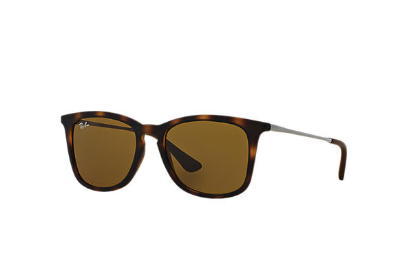 Ray-Ban Sunglasses RJ9063S Tortoise with Brown Classic B-15 lens