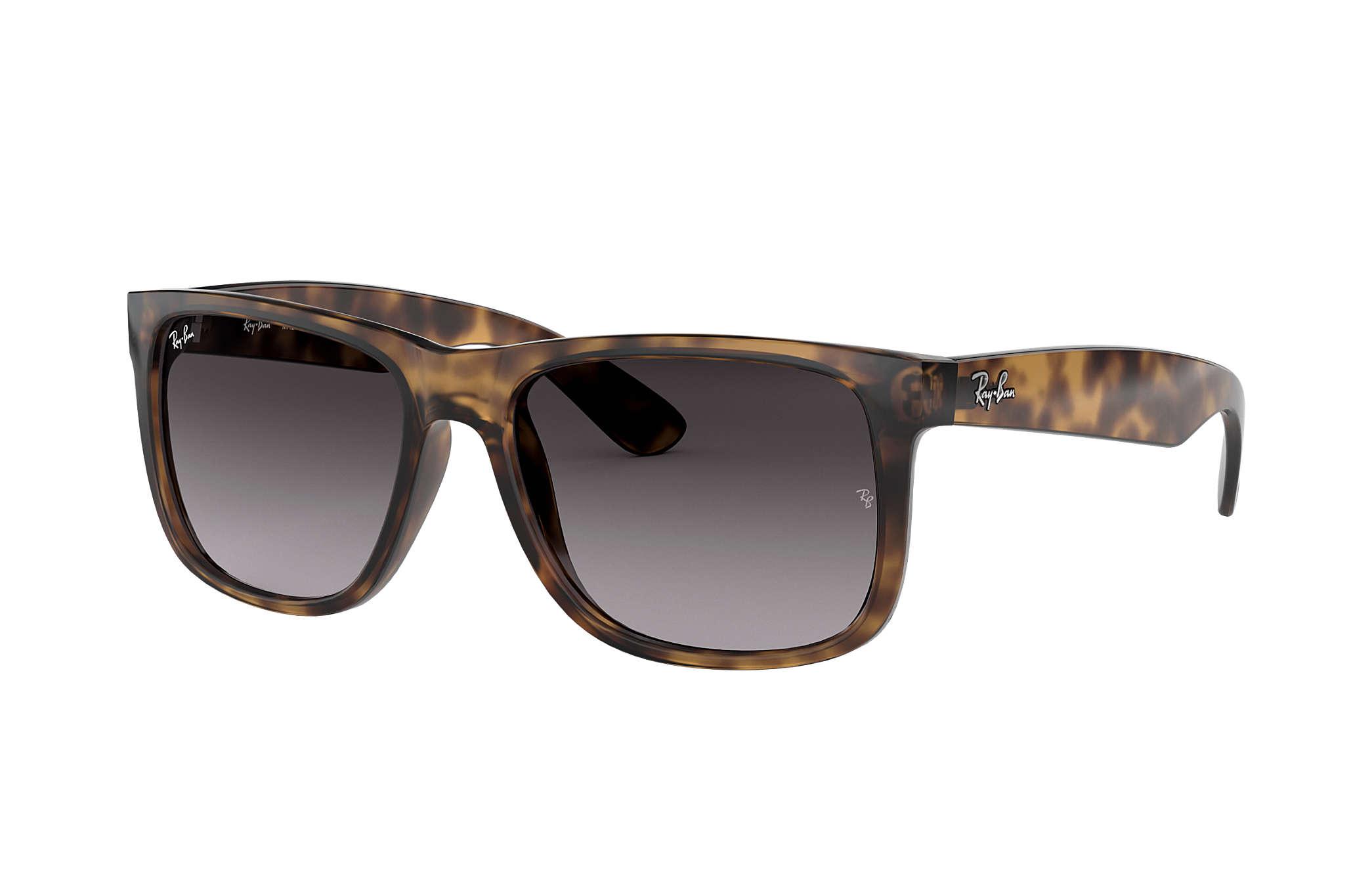 c5125dead9 Ray-Ban Justin Classic RB4165F Tortoise - Nylon - Grey Lenses ...