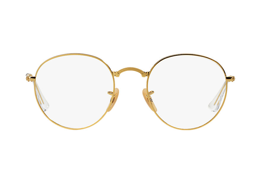Ray-Ban Lunettes-de-vue ROUND FOLDING OPTICS Or