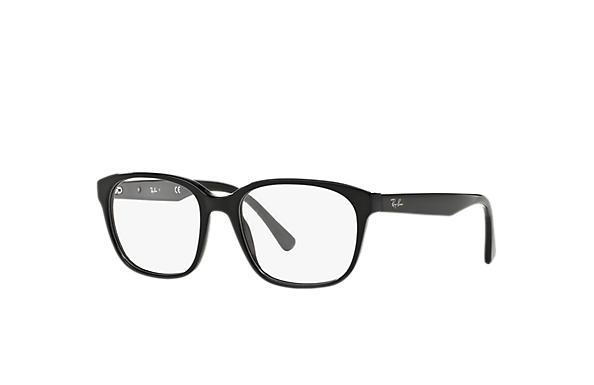 60088e2cdad Ray-Ban prescription glasses RB5340 Black - Acetate - 0RX5340200053 ...