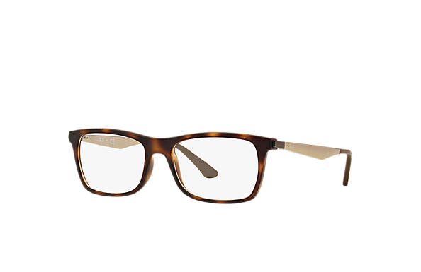 Ray-Ban 0RX7062-RB7062 Tortoise; Bronze-Copper OPTICAL