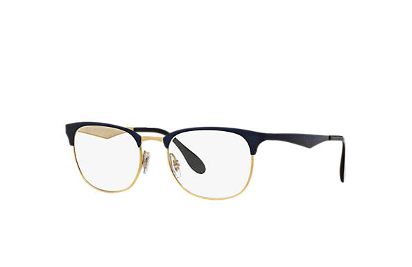 349bed33f2 Ray-Ban prescription glasses RB6346 Blue - Metal - 0RX6346287250 ...