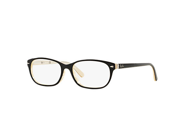 Ray-Ban 0RX5208D-RB5208D Black,Ivory OPTICAL