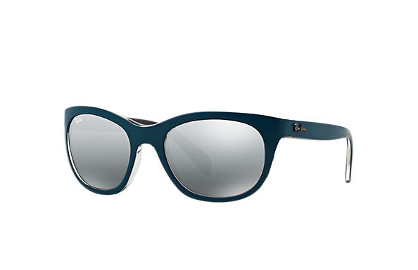 93e1f78754 Ray-Ban RB4216 Blue - Nylon - Grey Lenses - 0RB421661918856