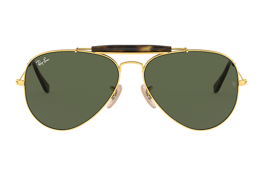 Ray-Ban  lunettes de soleil RB3029 UNISEX 001 outdoorsman havana collection or 8053672494433