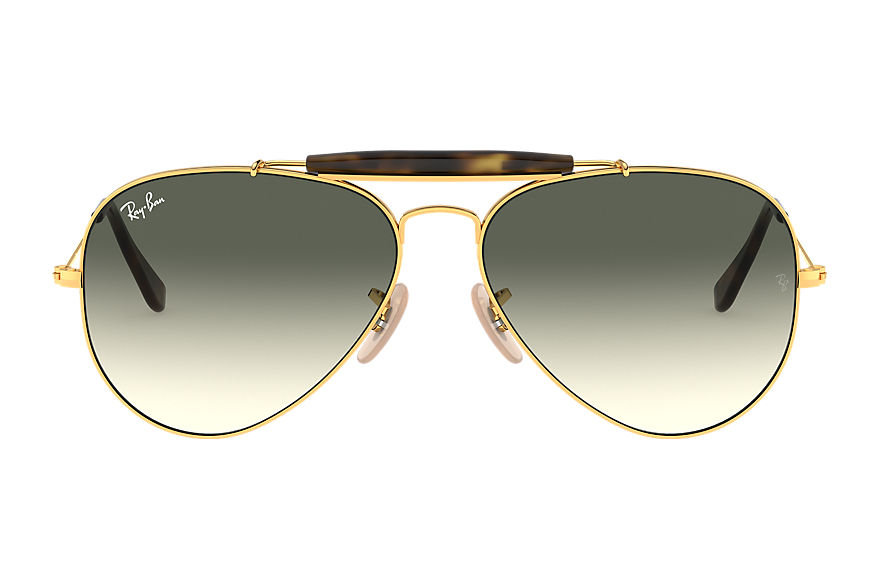 Ray-Ban  lunettes de soleil RB3029 UNISEX 002 outdoorsman havana collection or 8053672494471