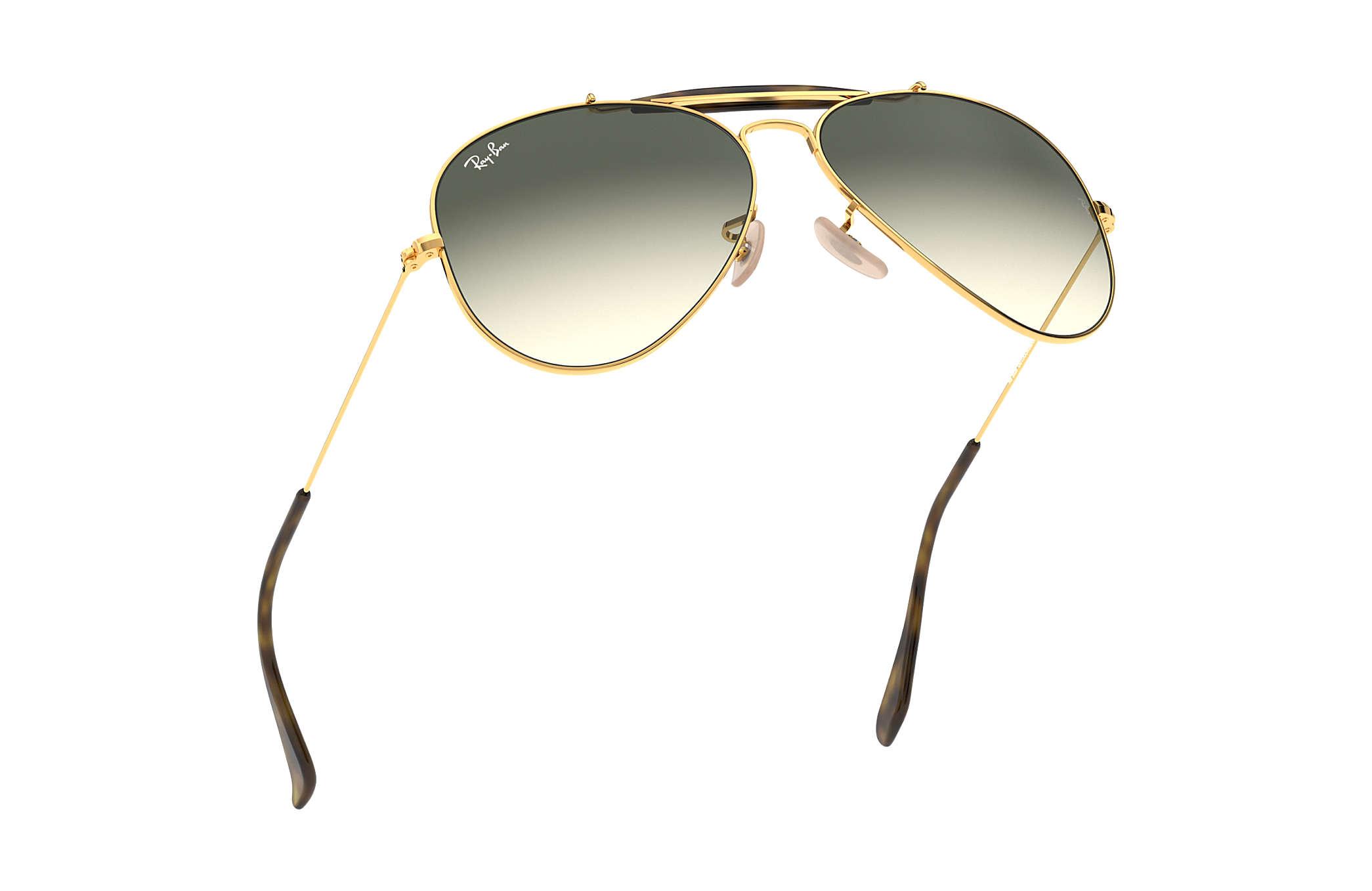 5383e416a8 Ray-Ban Outdoorsman Havana Collection RB3029 Gold - Metal - Grey ...