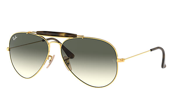 Ray-Ban 0RB3029-OUTDOORSMAN HAVANA COLLECTION Gold SUN