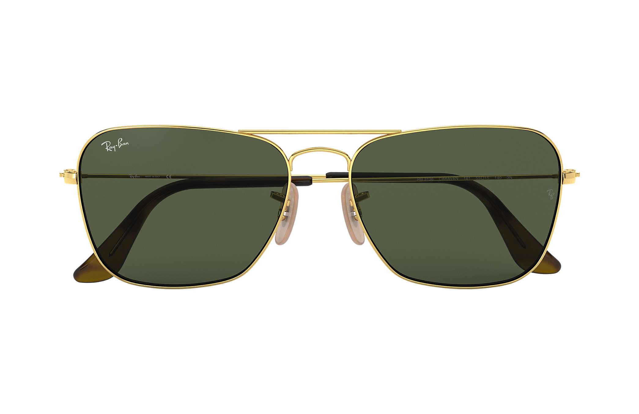 55-15 Green Classic G-15 Polarized NEW Aviator Caravan Outdoorsman Sunglasses