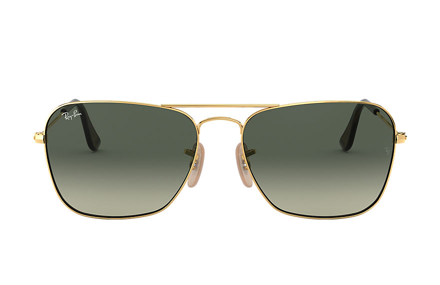 Ray-Ban CARAVAN Gold with Grey Gradient lens