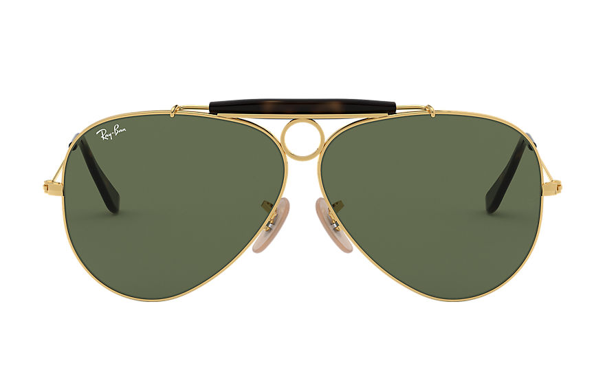 Ray-Ban  sonnenbrillen RB3138 MALE 005 shooter havana collection gold 8053672494990