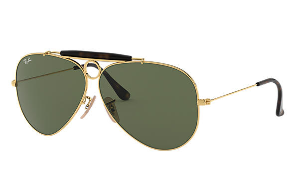 Ray-Ban 0RB3138-SHOOTER HAVANA COLLECTION Or SUN