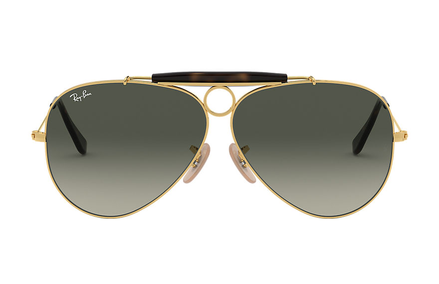 Ray-Ban  sunglasses RB3138 MALE 006 shooter havana collection gold 8053672495041