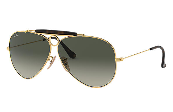 Ray-Ban 0RB3138-SHOOTER HAVANA COLLECTION Gold SUN