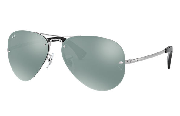 4cd8fedcff Ray-Ban RB3449 Silver - Metal - Silver Lenses - 0RB3449003 3059 ...