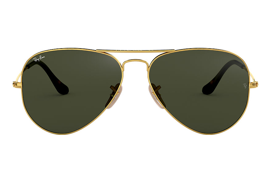 Ray-Ban  lunettes de soleil RB3025 UNISEX 075 aviator havana collection or 8053672495157