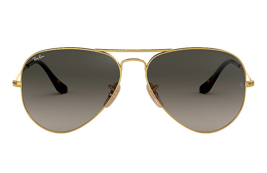 Ray-Ban  gafas de sol RB3025 UNISEX 081 aviator havana collection oro 8053672495171