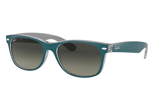 Ray-Ban 0RB2132-NEW WAYFARER BICOLOR Blue SUN