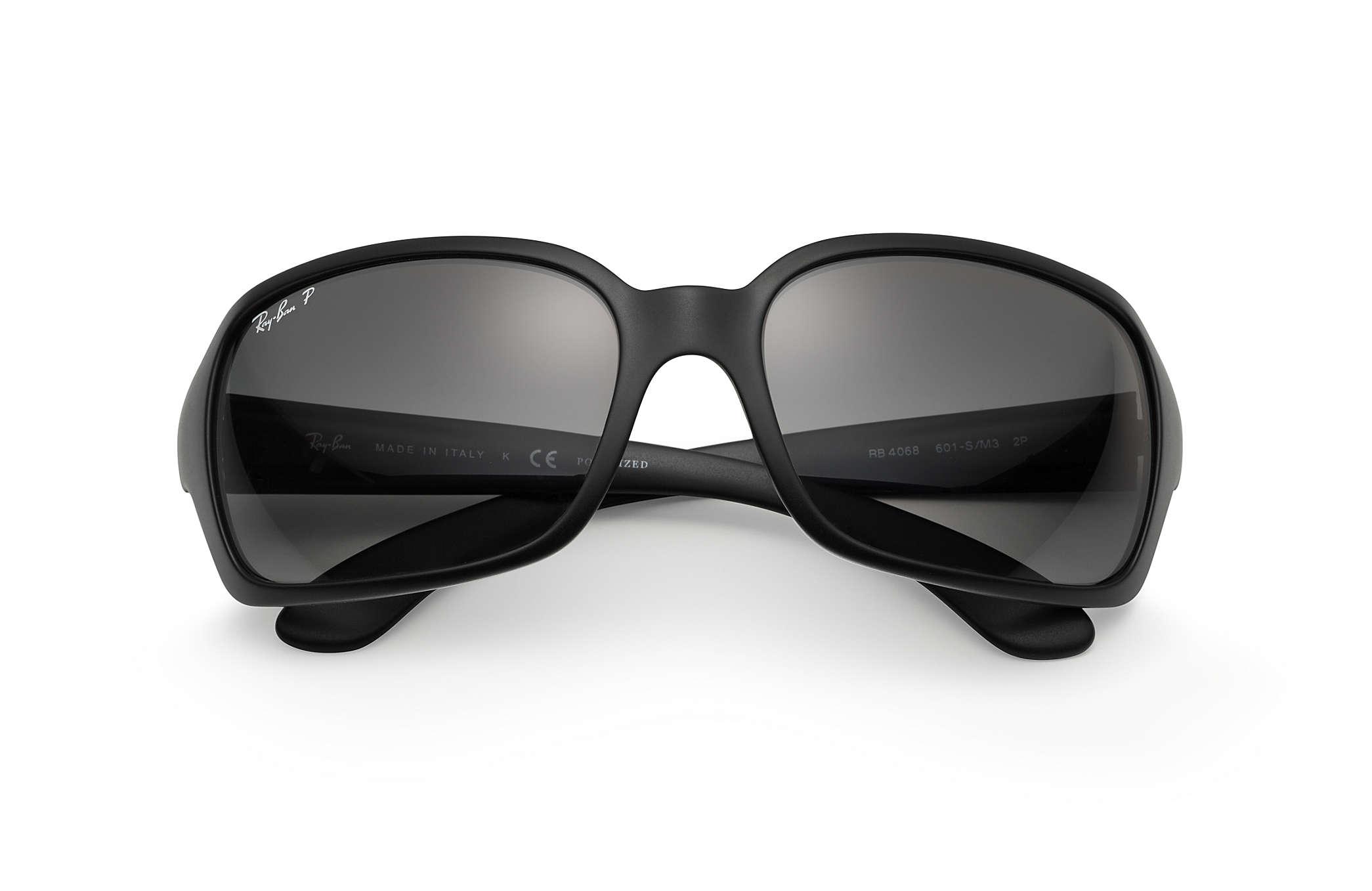 67ea19743a ray ban 4068 black polarized. Ray Ban RB4068 Highstreet Polarized 642 57  Sunglasses Review - YouTube