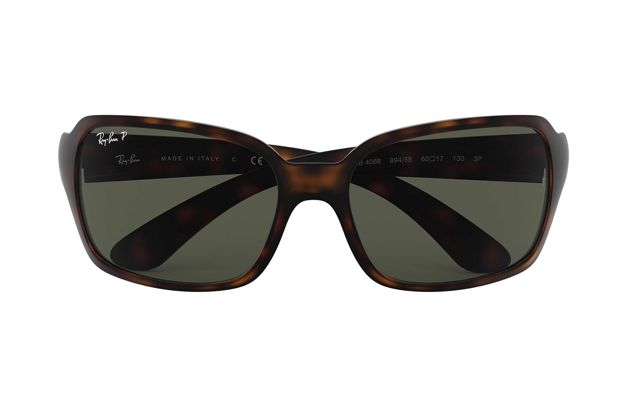 4c9fdc840d Ray-Ban RB4068 Tortoise - Nylon - Green Polarized Lenses ...