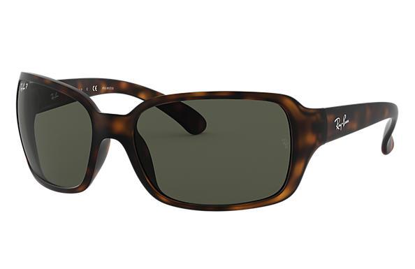 946aee3c38e Ray-Ban RB4068 Tortoise - Nylon - Brown Polarized Lenses ...