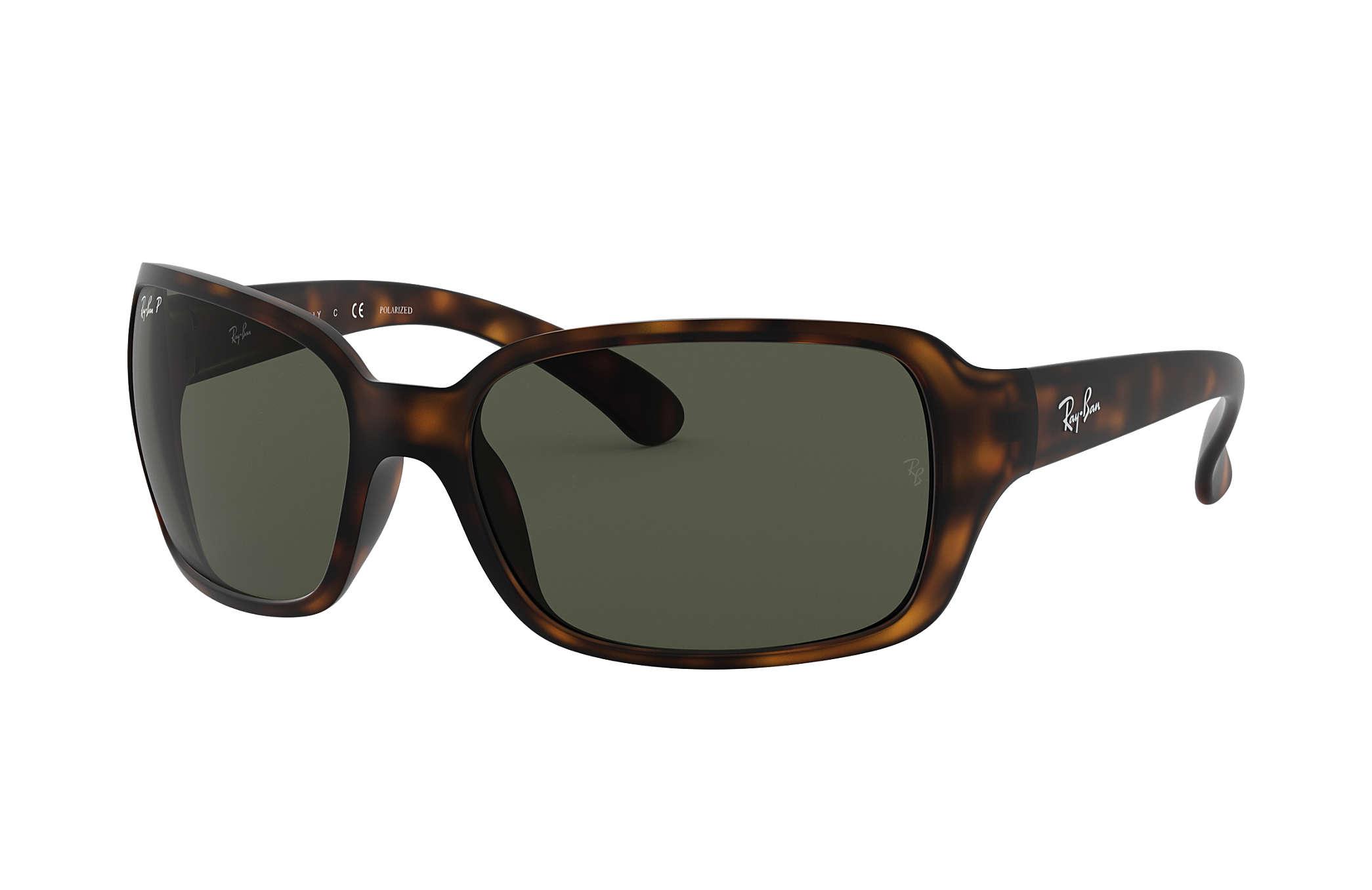 6c62f4ac2d1 Ray-Ban RB4068 Tortoise - Nylon - Green Polarized Lenses ...