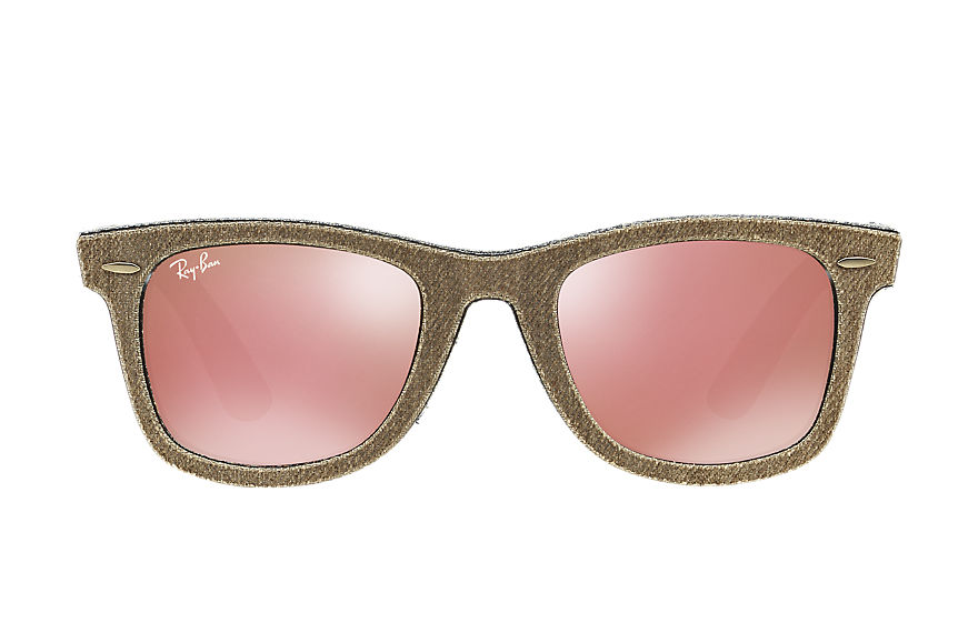 Ray-Ban  lunettes de soleil RB2140 UNISEX 046 original wayfarer denim brown denim 8053672495591