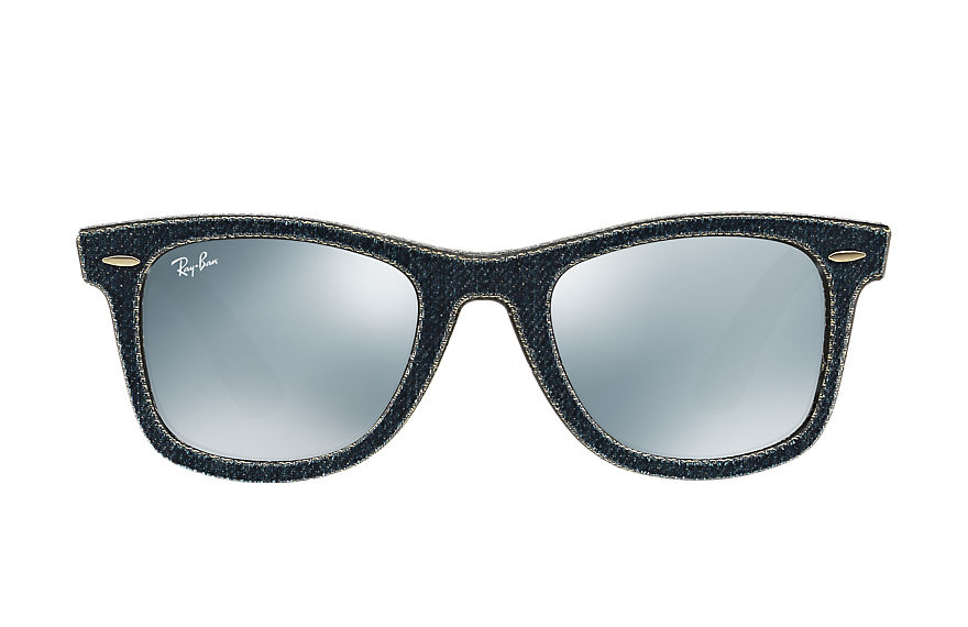 Ray-Ban  lunettes de soleil RB2140 UNISEX 052 original wayfarer denim blue denim 8053672495621