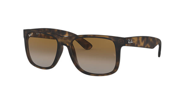 db06b323fd0 Ray-Ban Justin Classic RB4165 Tortoise - Nylon - Brown Polarized Lenses -  0RB4165865 T555