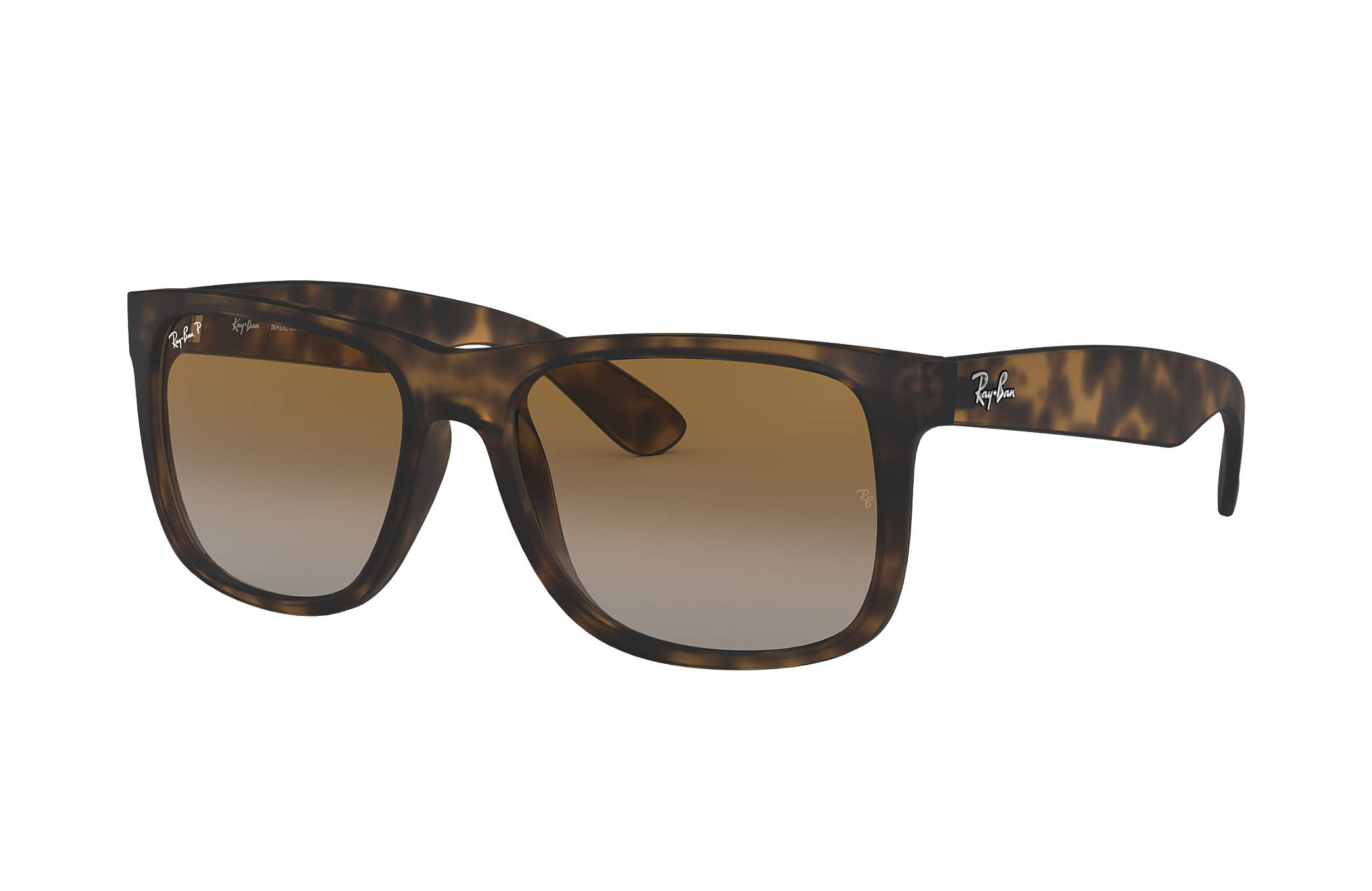 b92778faf1 Ray-Ban Justin Classic RB4165 Tortoise - Nylon - Brown Polarized ...