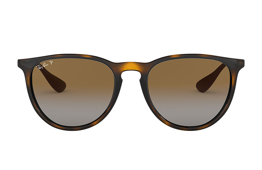 Ray-Ban ERIKA CLASSIC Gloss Tortoise with Brown Gradient lens