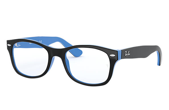 Ray-Ban		 0RY1528-RB1528 Black,Light Blue OPTICAL