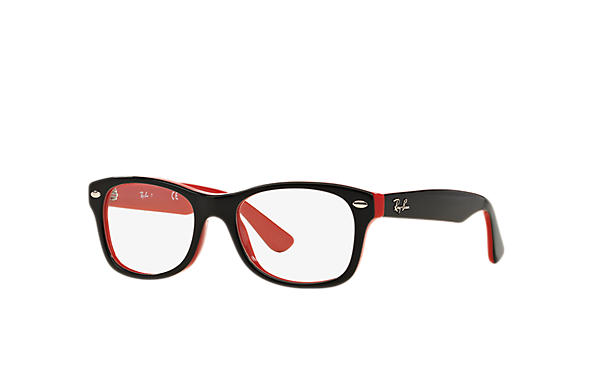 Ray-Ban 0RY1528-RB1528 Black,Red OPTICAL