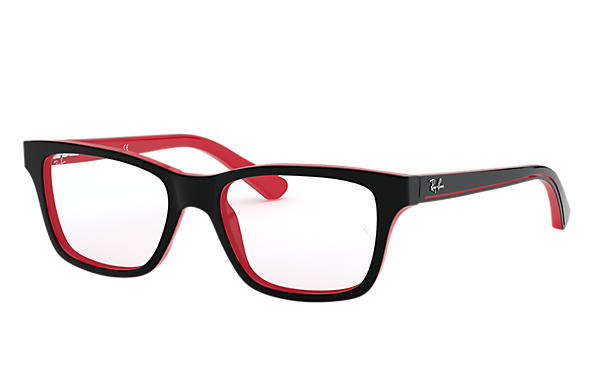 Ray-Ban 0RY1536-RB1536 Noir,Rouge OPTICAL