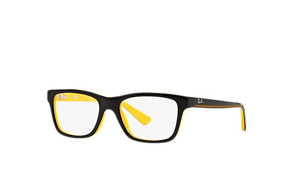 ray ban schwarz gelb