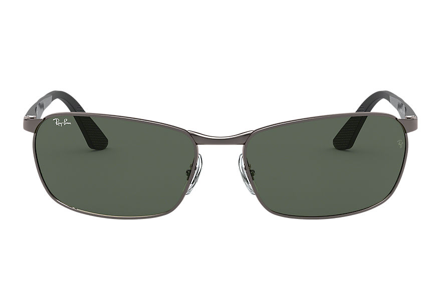 Ray-Ban Sunglasses RB3534 Gunmetal with Green Classic G-15 lens