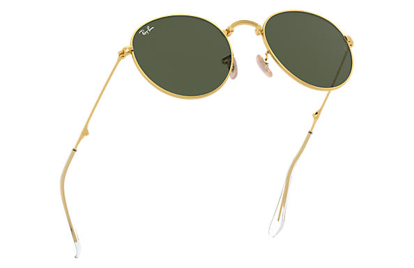 ray ban round metal costo