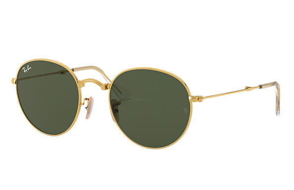 Ray-Ban 0RB3532-ROUND METAL FOLDING 金色 SUN