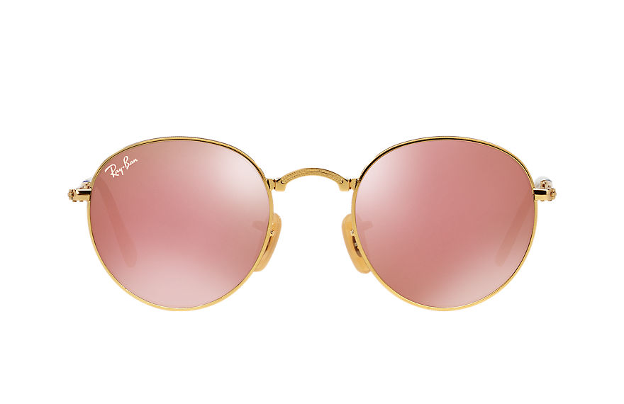Ray-Ban  sunglasses RB3532 UNISEX 002 round metal folding gold 8053672497823