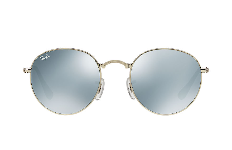 Ray-Ban  sunglasses RB3532 UNISEX 002 round metal folding silver 8053672497847