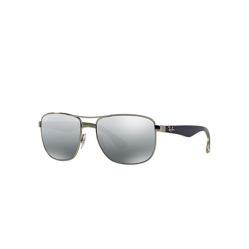 Ray-Ban Blue Sunglasses, Gray Lenses - Rb3533