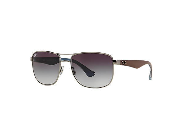 Ray-Ban 0RB3533-RB3533 Gunmetal; Brown,Blue SUN