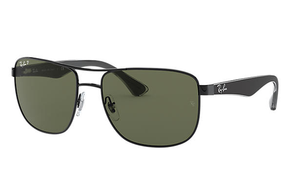 Ray-Ban 0RB3533-RB3533 Black; Black,Transparent SUN