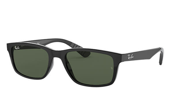 e47b3f8c2f Ray-Ban RB4234 Black - Nylon - Green Lenses - 0RB4234601 7158