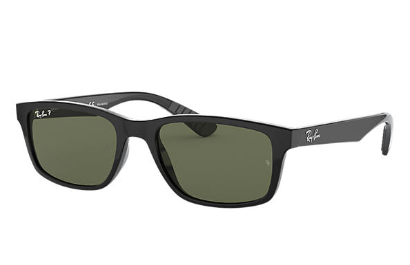 db86f3b62a Ray-Ban RB4234 Black - Nylon - Green Polarized Lenses - 0RB4234601 ...
