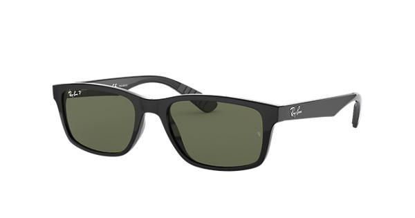 c3e6712b03099 Ray-Ban RB4234 Black - Nylon - Green Polarized Lenses - 0RB4234601 9A58